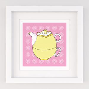 Tea for One, Limited Edition Screen Print