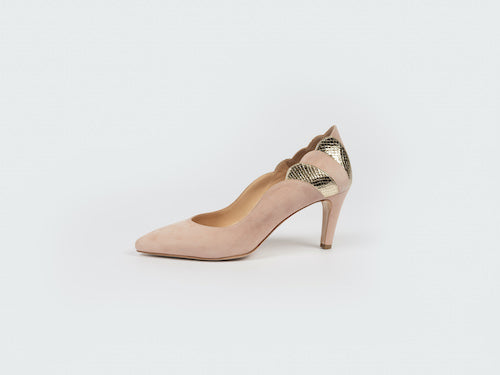 EVANGELINE COURT (BLUSH/ GOLD)