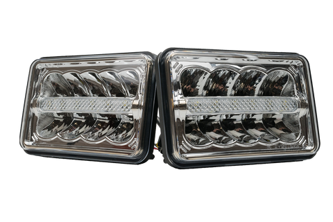 4x6 Sealed Beam Headlight assembly (Low Beam Set)