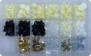 TRIM & CLIP ASSORTMENT KIT (APPROX QTY 284)