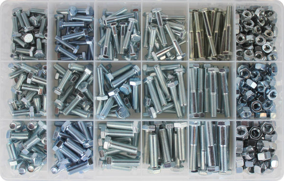 UNF NUT & BOLT ASSORTMENT KIT (APPROX QTY 425)