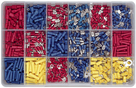 ELECTRICAL TERMINAL ASSORTMENT KIT (APPROX QTY 800)