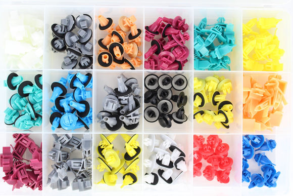 TOYOTA MOULDING CLIP RETAINER ASSORTMENT KIT (APPROX QTY 180)