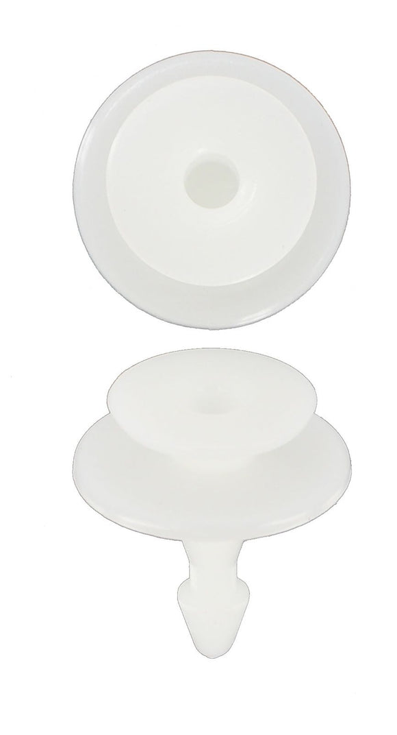 HONDA, TOYOTA & MAZDA - DOOR PANEL FITTING WHITE (QTY 8)