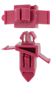 TOYOTA - MOULDING RETAINER MAROON (QTY 10)