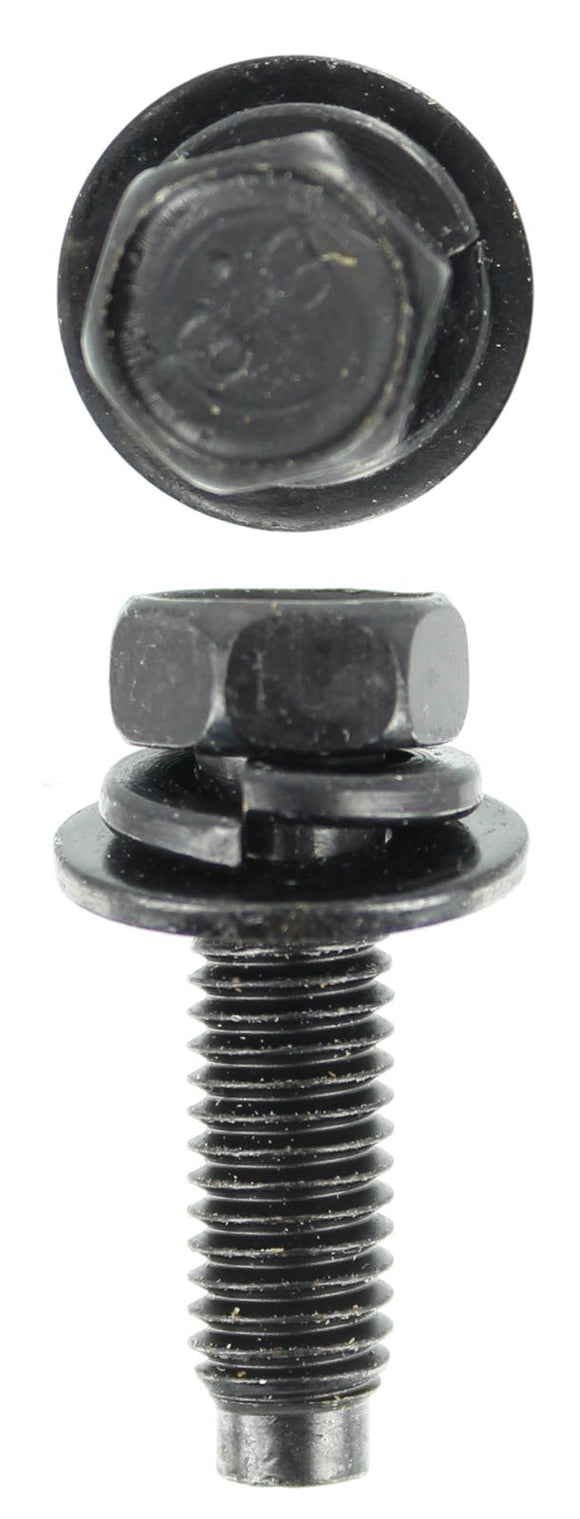 SEMS - M8 X 25MM SEMS BLACK 2 WASHER (QTY 10)