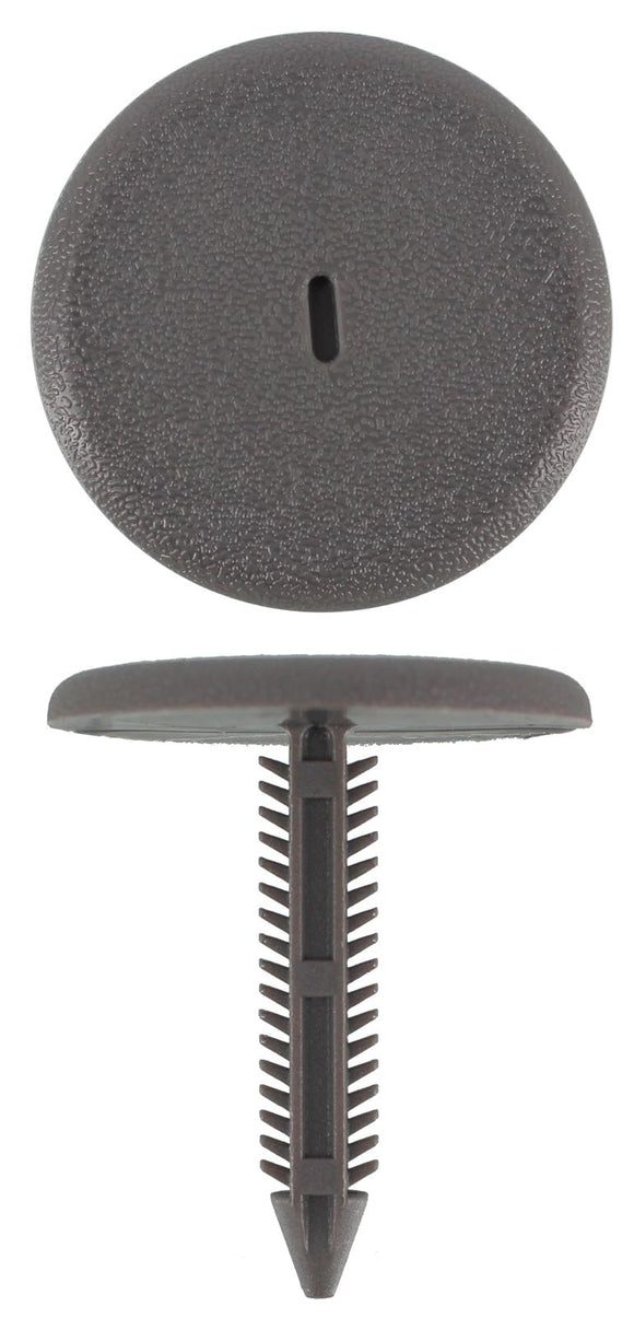 UNIVERSAL GREY CHRISTMAS TREE CLIP - 36MM STEM,  34MM HEAD, 7.5MM DIAMETER (QTY 8)