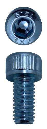 SOCKET HEAD CAP SCREWS ZINC M8 X 16 X 1.25 (QTY 20)