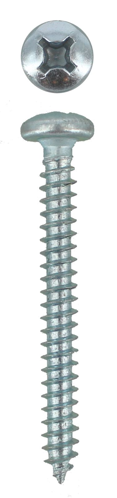 SELF TAPPING SCREW PAN PHILLIPS 8G X 1 1/2 (QTY 50)