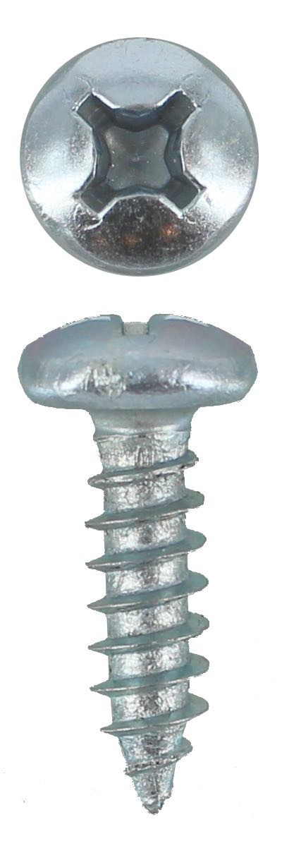 SELF TAPPING SCREW PAN PHILLIPS 12G X 3/4 (QTY 50)