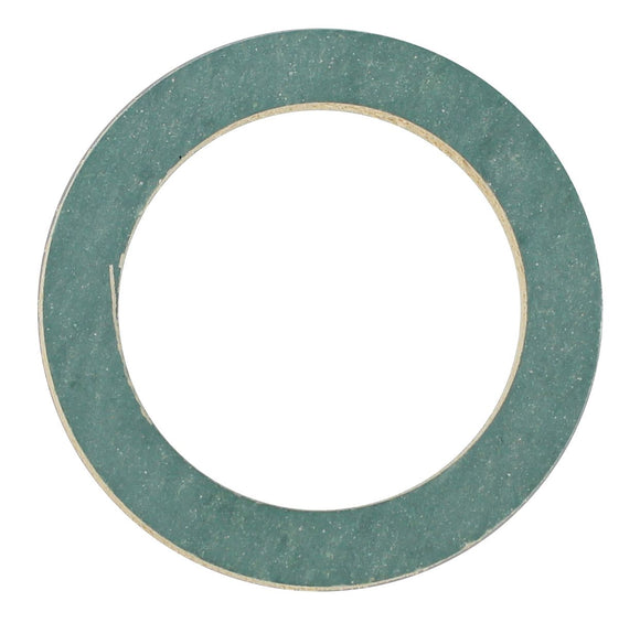 SUMP PLUG WASHER FIBRE SYNTHETIC WHITE/GREEN 25 X 35 X 2MM (QTY 8)