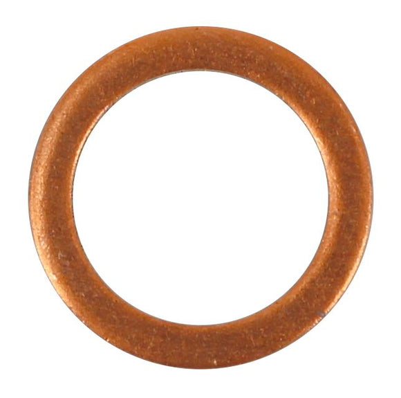 SUMP PLUG WASHER COPPER 13.3 X 17.80 X 1.5MM (QTY 15)