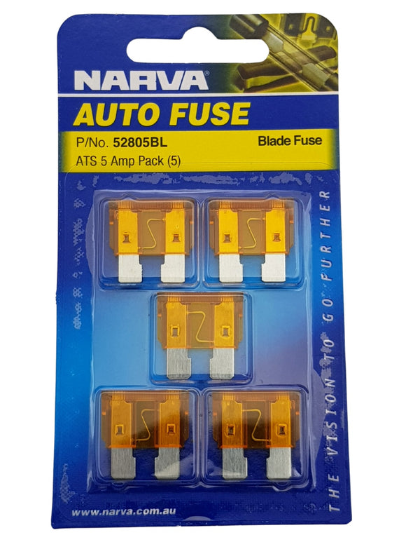 ATS BLADE FUSE 5AMP (QTY 5)