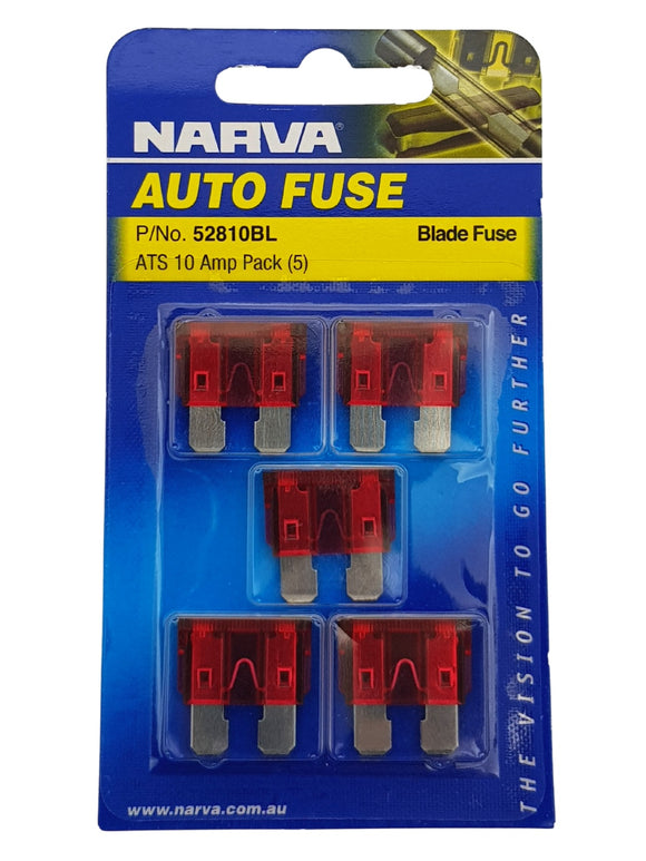 ATS BLADE FUSE 10AMP (QTY 5)