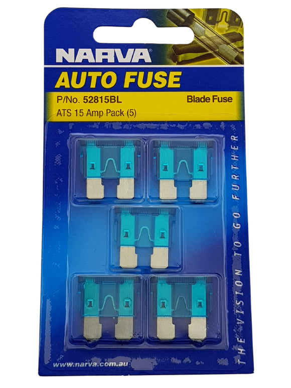 ATS BLADE FUSE 15AMP (QTY 5)