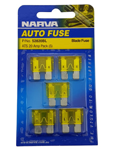 ATS BLADE FUSE 20AMP (QTY 5)