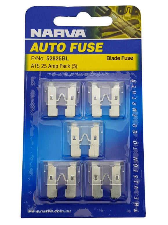 ATS BLADE FUSE 25AMP (QTY 5)