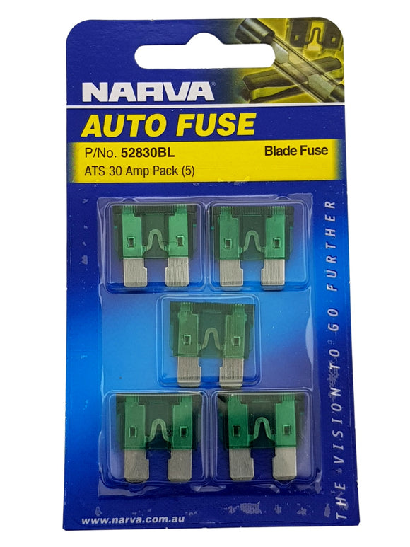 ATS BLADE FUSE 30AMP (QTY 5)