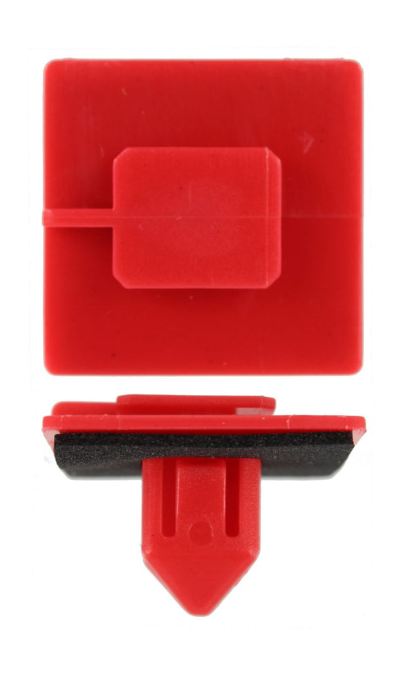 TOYOTA - BODY SIDE MOULDING RETAINING CLIP RED (QTY 6)