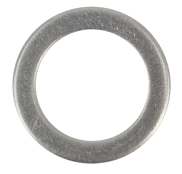 SUMP PLUG WASHER ANNEALED ALUMINIUM 18.25MM X 25.40MM X 1.5/1.6MM (QTY 12)