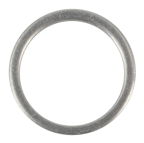 SUMP PLUG WASHER ANNEALED ALUMINIUM 22.47MM X 26.97MM X 1.5/1.6 MM (QTY 12)