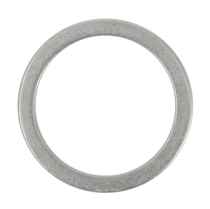 SUMP PLUG WASHER ANNEALED ALUMINIUM 26.28MM X 32.54MM X1.5/1.6 MM (QTY 15)