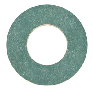 SUMP PLUG WASHER FIBRE SYNTHETIC GREEN 12MM X 24MM X 2MM (QTY 10)
