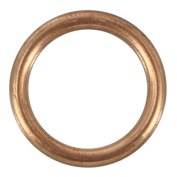 SUMP PLUG WASHER COPPER CRUSH 16MM (QTY 10)