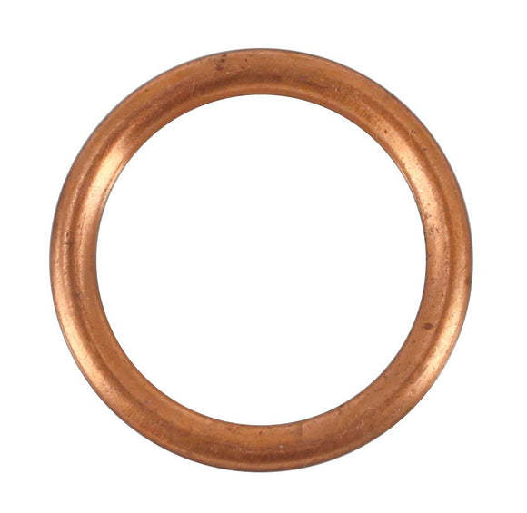 SUMP PLUG WASHER COPPER CRUSH 18MM (QTY 10)