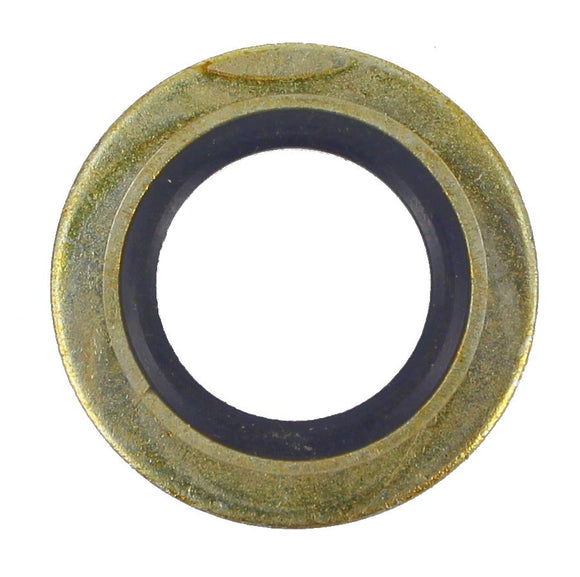 SUMP PLUG WASHER RUBBER/METAL 14MM (QTY 5)
