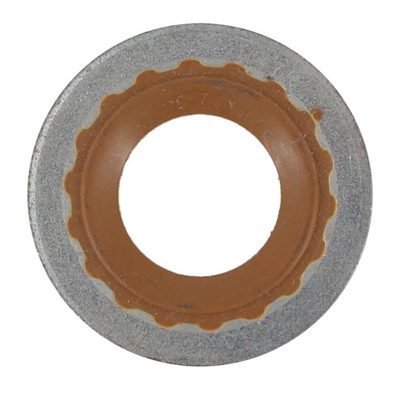 SUMP PLUG WASHER RUBBER/METAL 12MM (QTY 5)