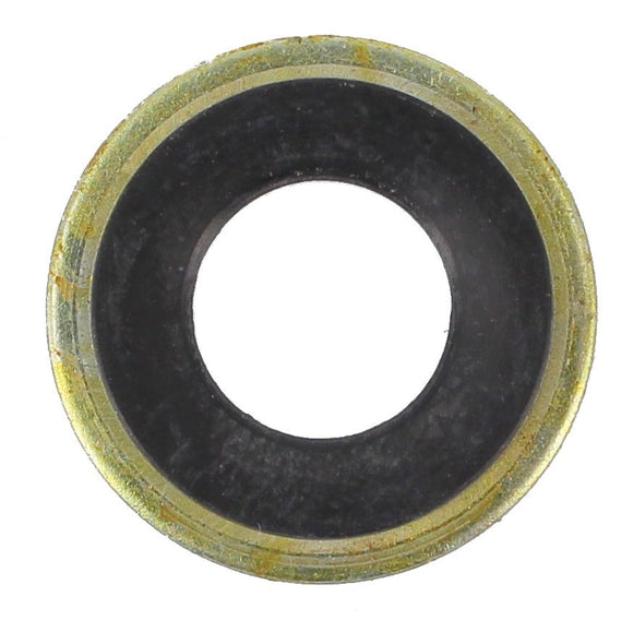 SUMP PLUG WASHER RUBBER/METAL BLACK 12MM (QTY 5)