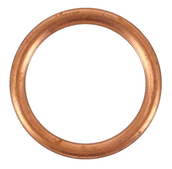 SUMP PLUG WASHER COPPER CRUSH 20MM X 26MM (QTY 10)