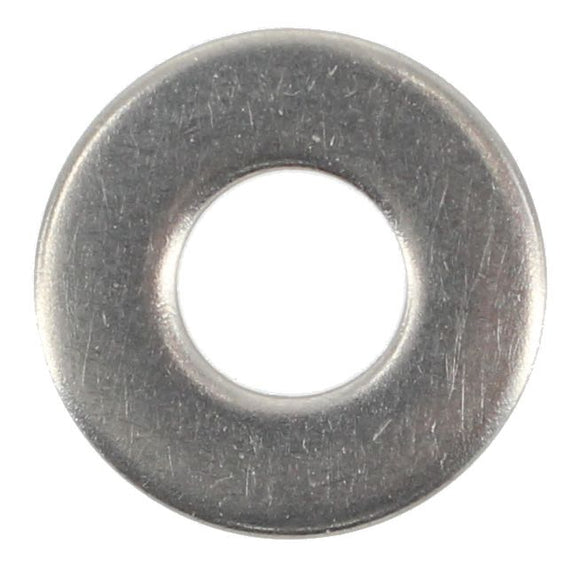 STAINLESS STEEL 1/4 FLAT WASHER (QTY 80)