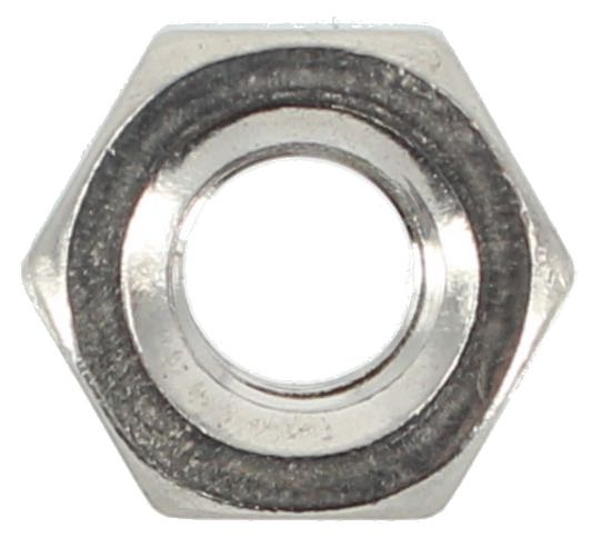 STAINLESS STEEL 1/4 UNC HEX NUTS (QTY 80)