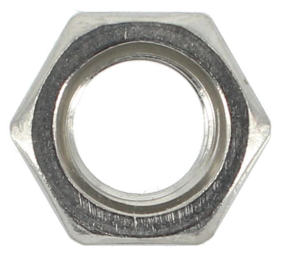 STAINLESS STEEL 3/8 UNC HEX NUTS (QTY 50)