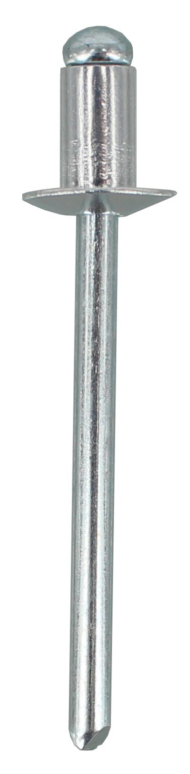 POP RIVET AS6-2 - ALUMINIUM RIVET, STEEL STEM  (QTY 50)