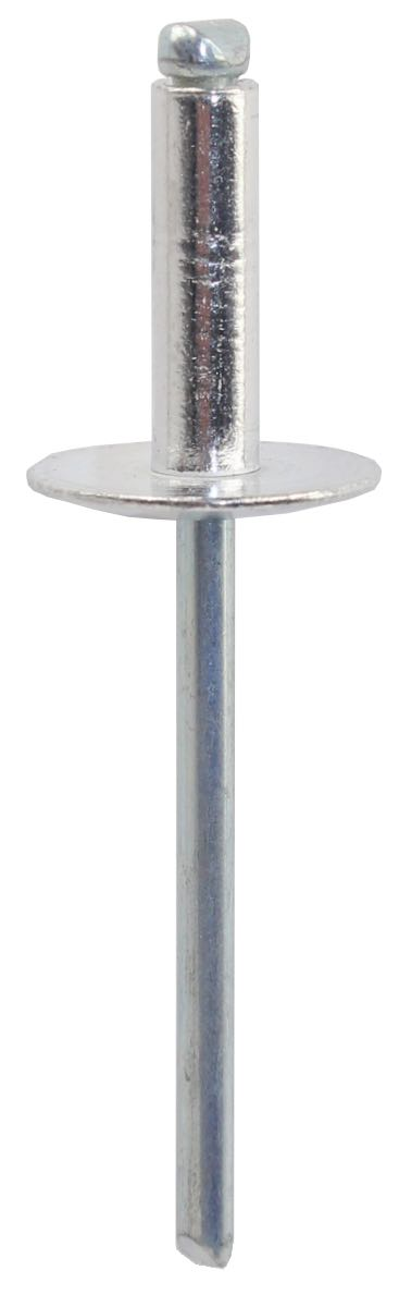 POP RIVET ASL6-10 - LARGE FLANGE ALUMINIUM RIVET, STEEL STEM  (QTY 25)