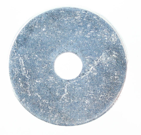 5MM OR 3/16 X 1 X 16G STEEL MUDGUARD WASHER (QTY 50)