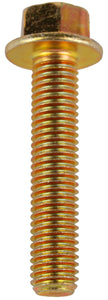 M10 X 50MM X 14MM HEAD X 1.5 COARSE FLANGE SET SCREW (QTY 6)