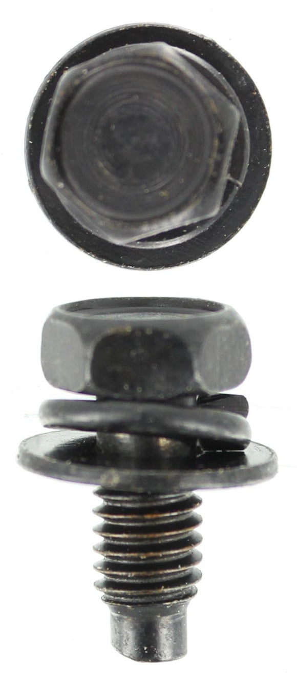 SEMS - M6 X 12MM SEMS BLACK 2 WASHER (QTY 20)