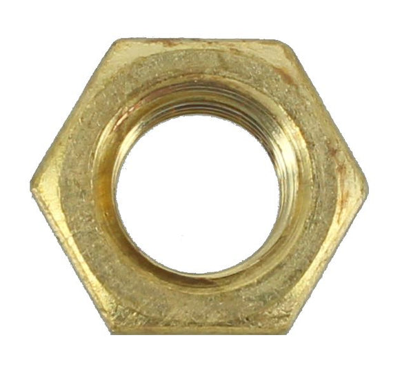 BRASS NUTS  3/8 UNC - HOLDEN (QTY 10)