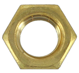 BRASS NUTS  7/16 UNC - FORD (QTY 10)