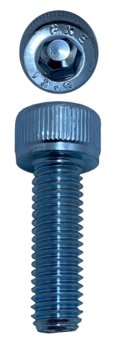 SOCKET HEAD CAP SCREWS ZINC M5 X 16 X 0.8 (QTY 40)
