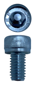 SOCKET HEAD CAP SCREWS ZINC M6 X 10 X 1.0 (QTY 50)