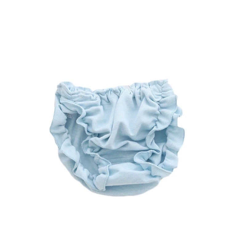 Blue Organic Cotton Bloomers