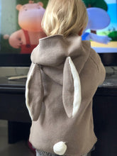 Load image into Gallery viewer, Knitted Bunny Ear Hoodie
