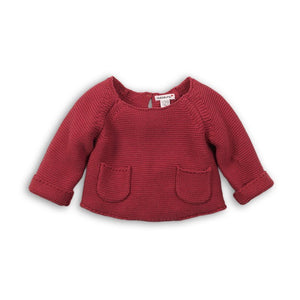 Rose wood Knitted Jumper