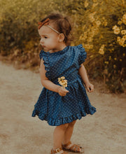 Load image into Gallery viewer, Backless Polka Dot Dress