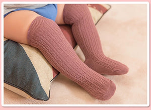 Candy Color Knee High Socks
